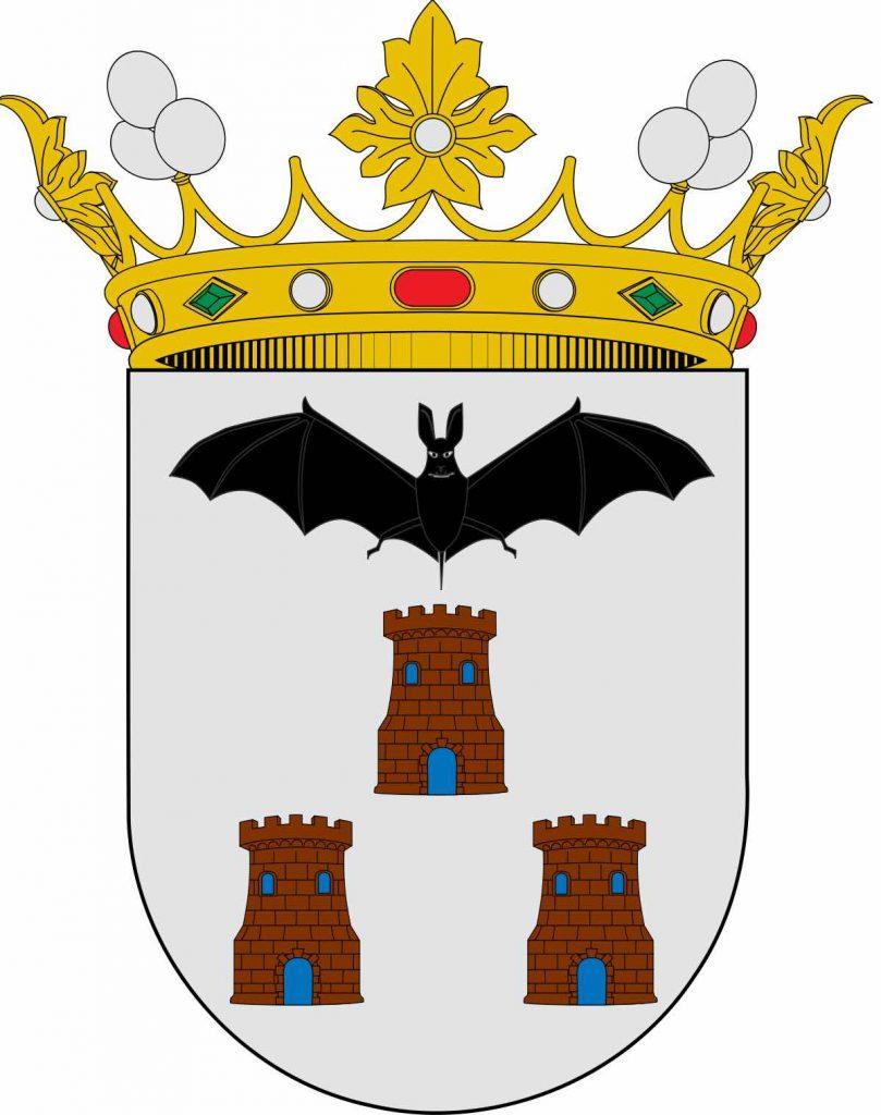 escudo lonja de albacete almendra