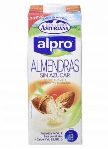 leche de almendras alpro